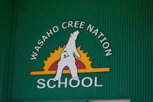 Washaho Cree Nation School
