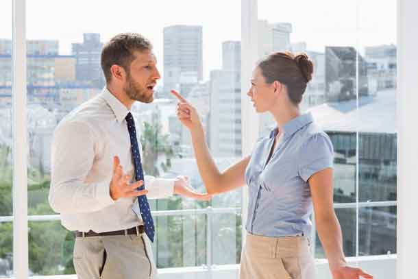 Business team having a heated argument in a office Image: Depositphotos.com
