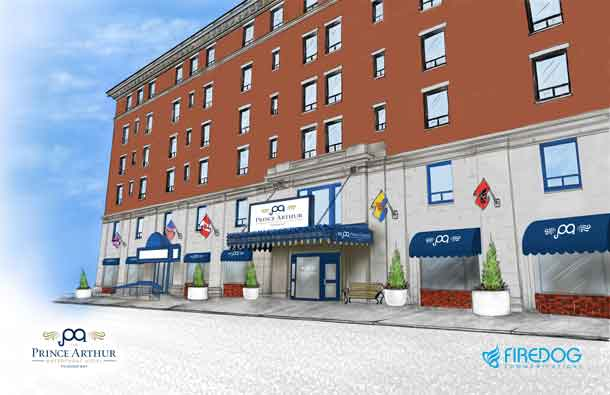 The New Prince Arthur Waterfront Hotel