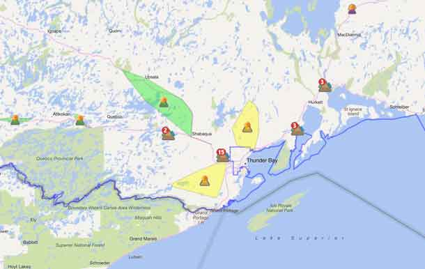 Hydro One Outages Map NetNewsLedger   Hydro One Report 16 Power Outages
