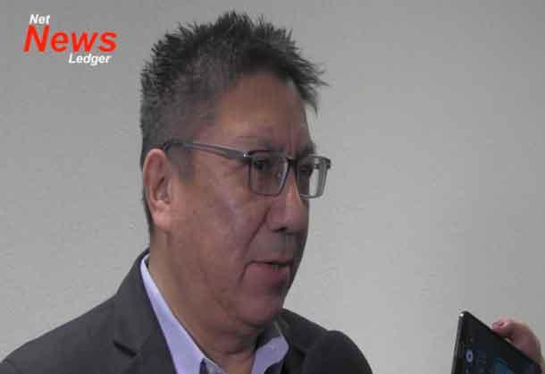 Nishnawbe Aski Nation Grand Chief Alvin Fiddler