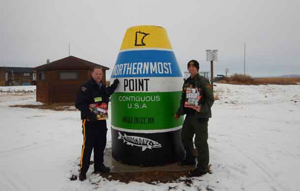 Toys for the North in the most northern part of the Continental United States