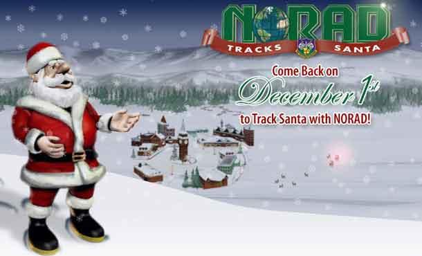 NORAD Santa Tracking 2018