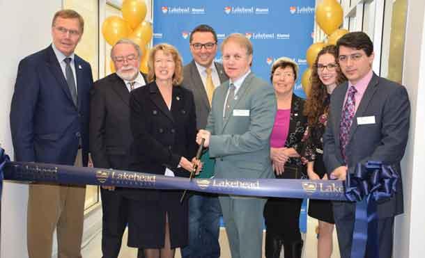 Ribbon cutting opens new building at Lakehead University