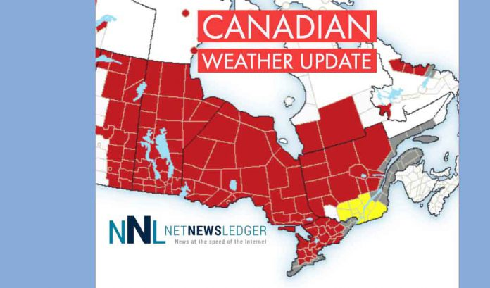 Extreme Cold Grips Western Canada