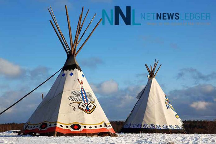 Indigenous News Splash Two Tee Pees