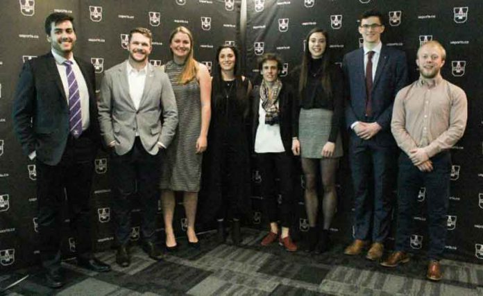 Top 8 Academic All-Canadians honoured at Rideau Hall