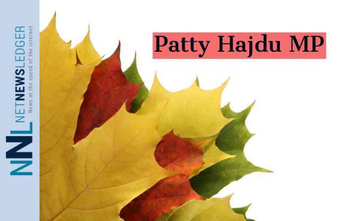 Patty Hajdu MP Thunder Bay Superior North