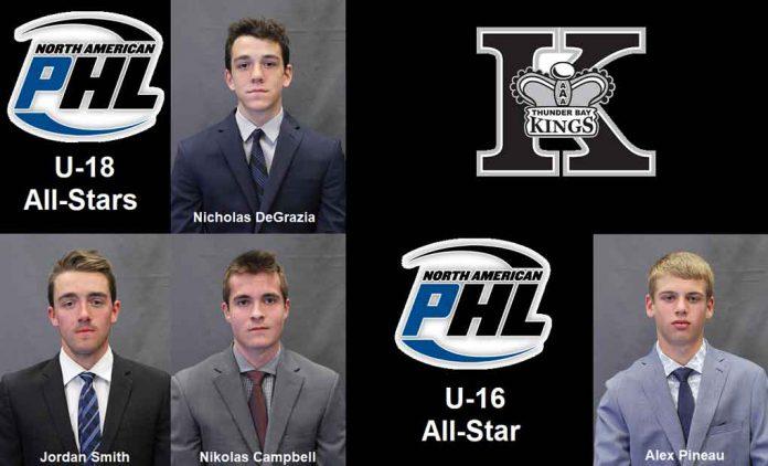 Kings earn NAPHL All-Star accolades
