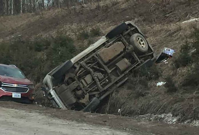 Image - NNL News Hawk. Motor Vehicle Accident on Highway 61 South.