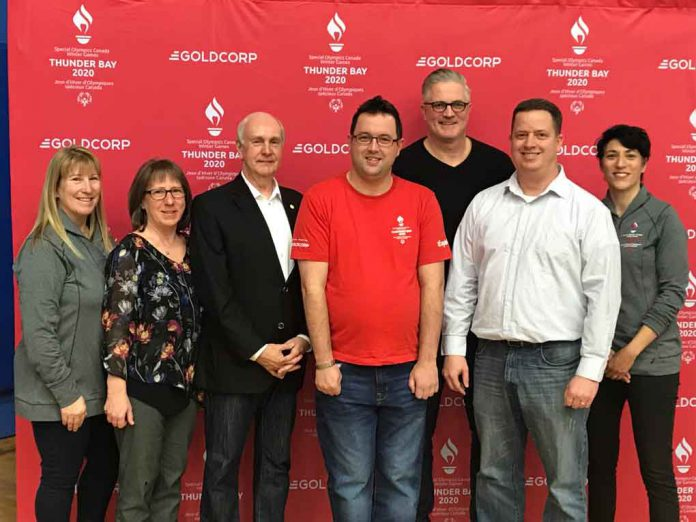 Eight venue partners and five sport sponsors were acknowledged today for their help to host the Special Olympics Canada Winter Games Thunder Bay 2020. The Games Organizing Committee was joined by representatives from Lakehead University, Taranis Contracting Group and TBT Engineering Consultant Group.