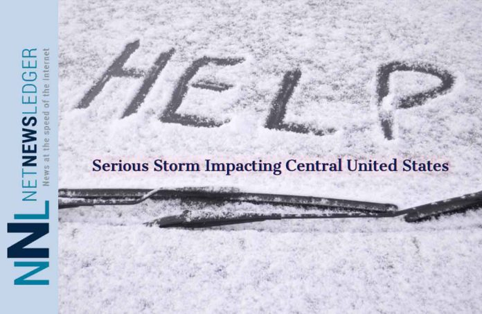 Winter Storm Wesley Bears down on North Central United States
