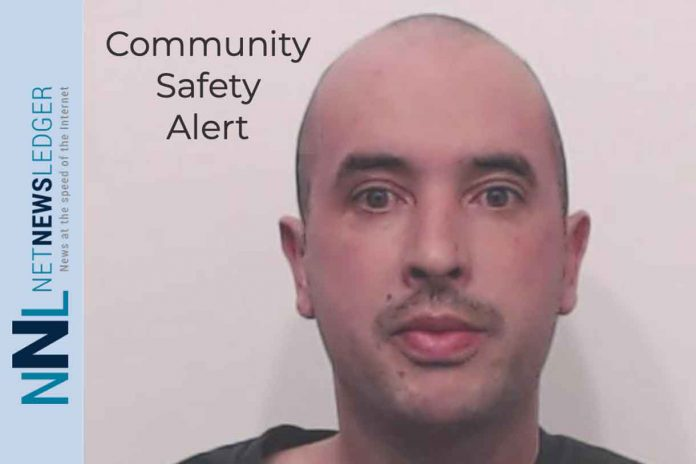 Thunder Bay Police Service is issuing a Community Safety Advisory about an offender who resides in the city