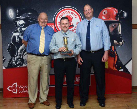 Jean-Yves Doiron, a mine rescue technician with Vale Canada in Sudbury, won the award for top technician.