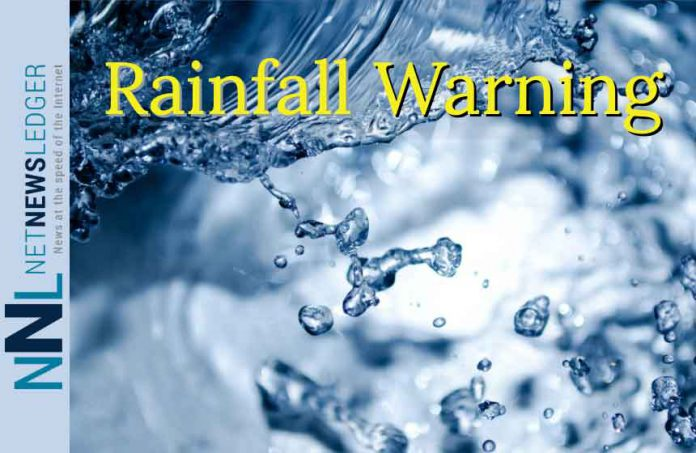 Rainfall Warning