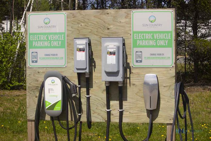 Sun Country Electric Vehicle Plug In Nipigon