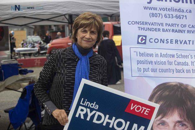 Thunder Bay-Rainy River Conservative candidate Linda Rydholm