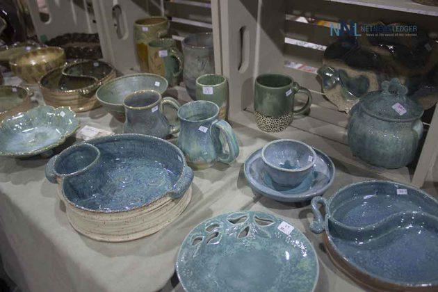 Pottery at the Terrace Bay Fall Market