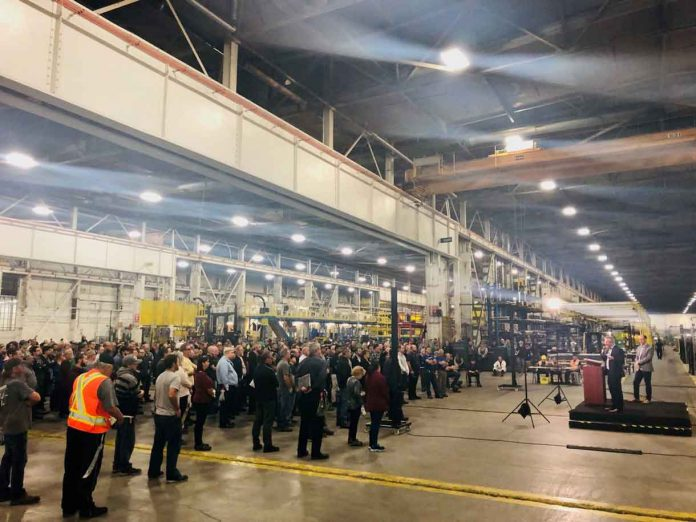Announcement made at Bombardier Tuesday that another contract is coming