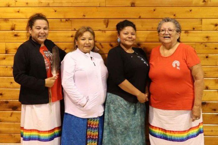 Anita Collins, Seine River First Nation Catherine Green, Shoal Lake #40 First Nation Mona Gordon, Obishikokaang (Lac Seul) First Nation Priscilla Simard, Couchiching First Nation
