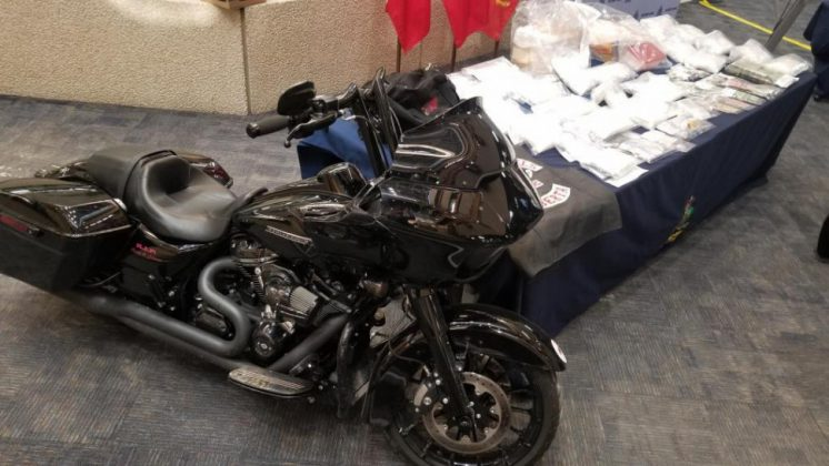 Harley Davidson Motorcycle seized by RCMP