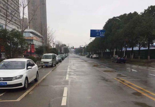 Roadways in Wuhan City are virtually empty. Photo - One of NetNewsledger's International Newshawks