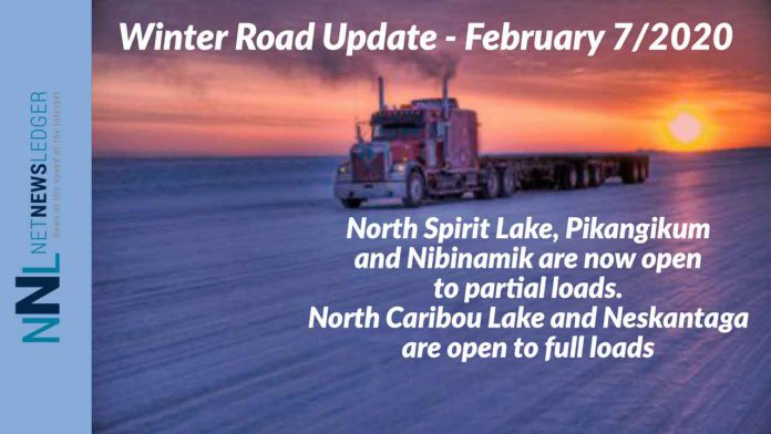 Winter Road Updates