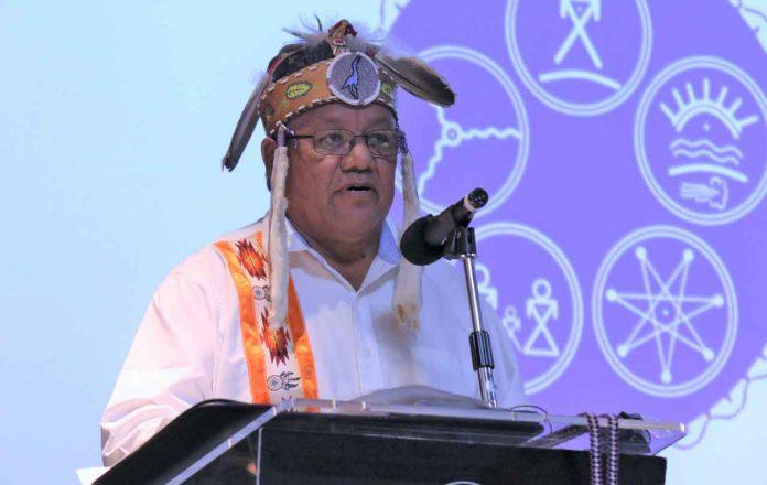 Grand Council Chief Glen Hare