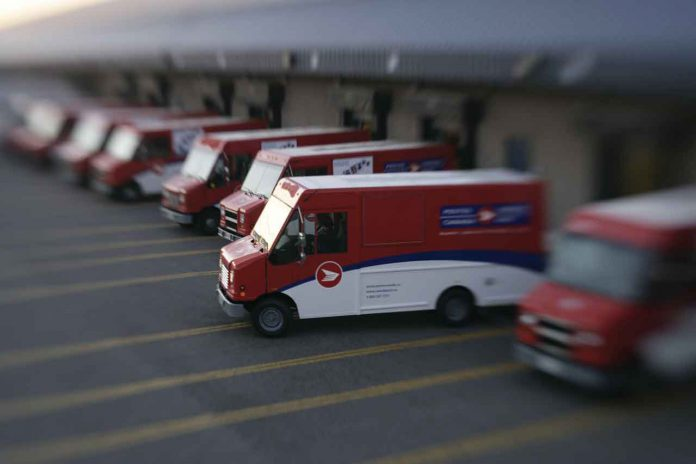 Canada Post is experiencing heavy volumes of parcel shipping.