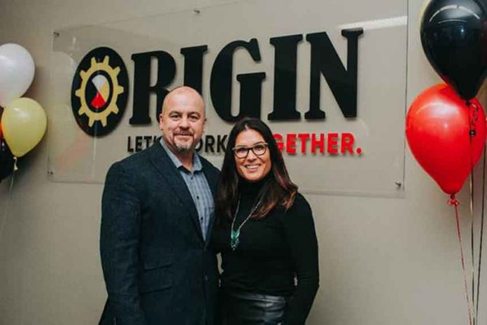 Paul Giles, Director, and Melissa Hardy-Giles, Owner, ORIGIN