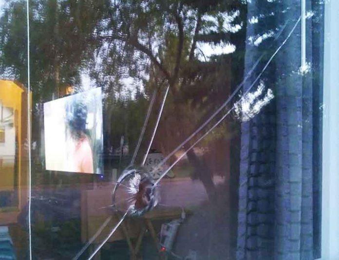 Vandalism in Penhold Neighbourhood - Image courtesy of NNL Newshawk