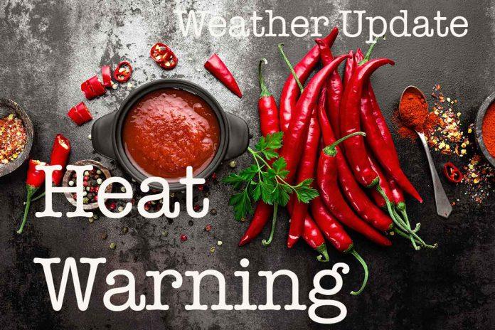 Weather - Heat Warning