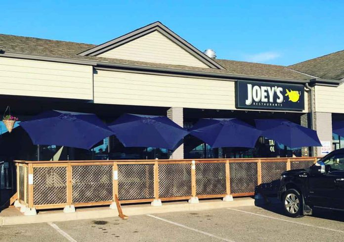 Popular restaurant Joey's Only on Arthur Street has adapted opening a patio for their guests