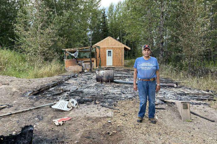 Wet'suwet'en Cabin Destroyed By Arsonists