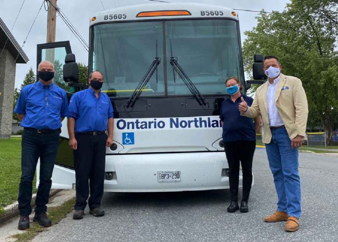 Ontario Northland Introduces New Bus Route Stops in Atikokan, Fort Frances and Emo