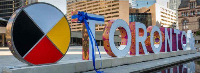 New Toronto Sign Unveiled