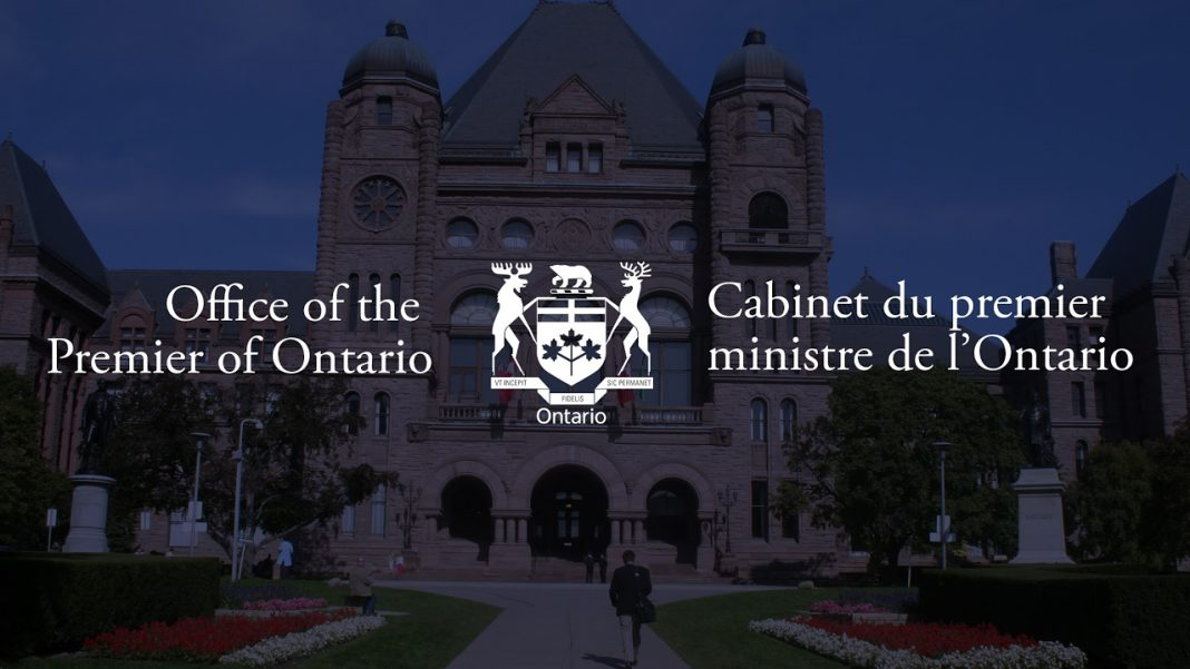 Ontario news conference