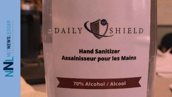 Counterfeit Daily Shield Hand Sanitizer