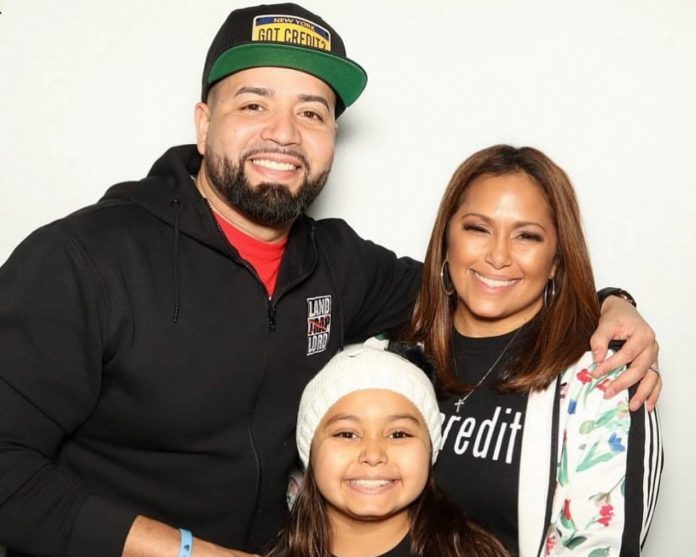 Jose Rodriguez aka The Credit Dude with his family