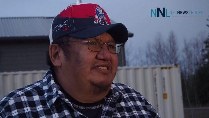 Chief Moonias Neskantaga