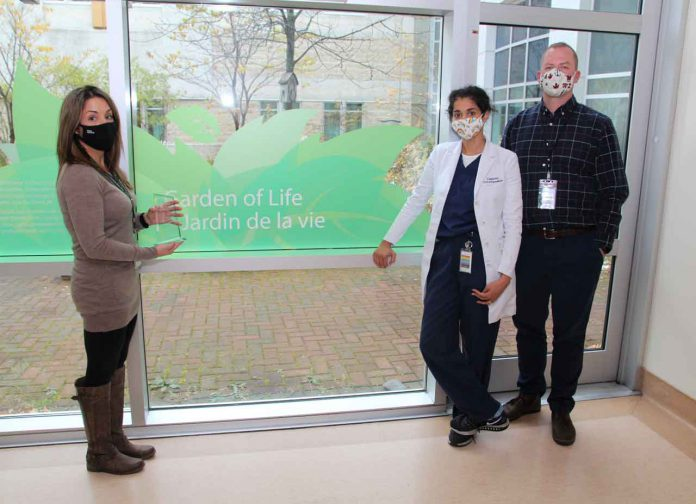 Kiley Perrier, Organ and Tissue Donation Coordinator, Trillium Gift of Life Network; Dr. Sam Arora, Physician; Chad Johnson, Manager, Critical Care Services and Operational Lead, Trillium Gift of Life Network