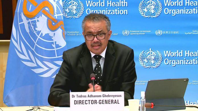 World Health Organization COVID-19 Update