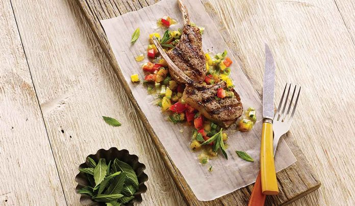 Image - Grilled Lamb with Salsa - Foodland Ontario