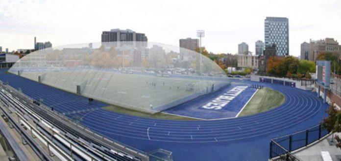 The new domed facility will be similar to Varsity Stadium in Toronto