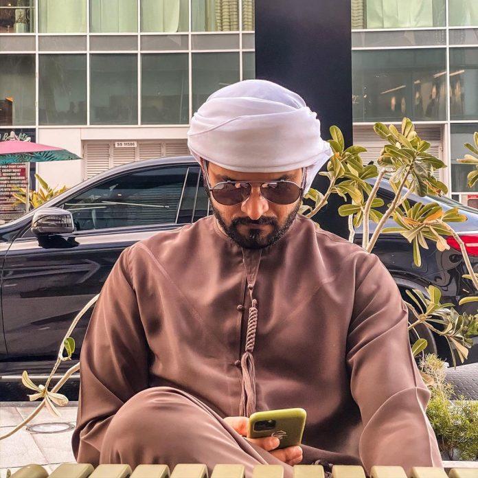 Mohamed Alsaadi Preps for His Hollywood Innings