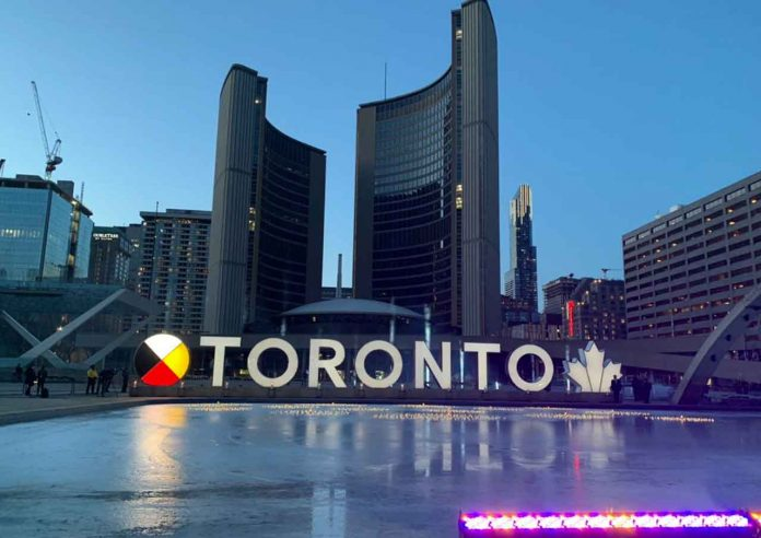 The City of Toronto Marked COVID-19 Deaths with a memorial