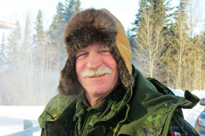 Chief Warrant Officer Robert Patterson enjoyed travelling with Caandian Rangers in the North. credit Sergeant Peter Moon, Canadian Rangers