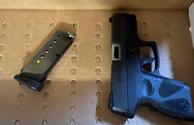 TBPS Handgun Seized