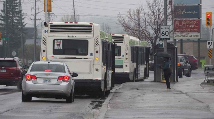 Transit Buses stopped due to threat
