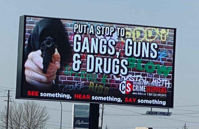 Crimestoppers guns gangs drugs crime TBPS Police